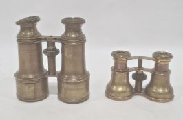 A pair of 'Boston. Shreve Crump and Low' binoculars and another pair of binoculars (2)