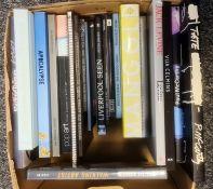 Assorted books on modern artto include Hamish Fulton, Marlene Dumas, Mary Kelly, Apocalypse, Rainer