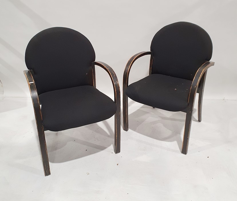Set of four office chairs(4)