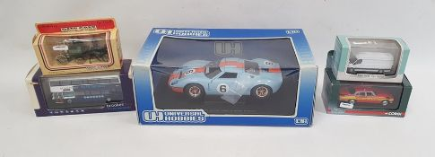 Box of assorted model carsto include Lledo promotional models, all boxed