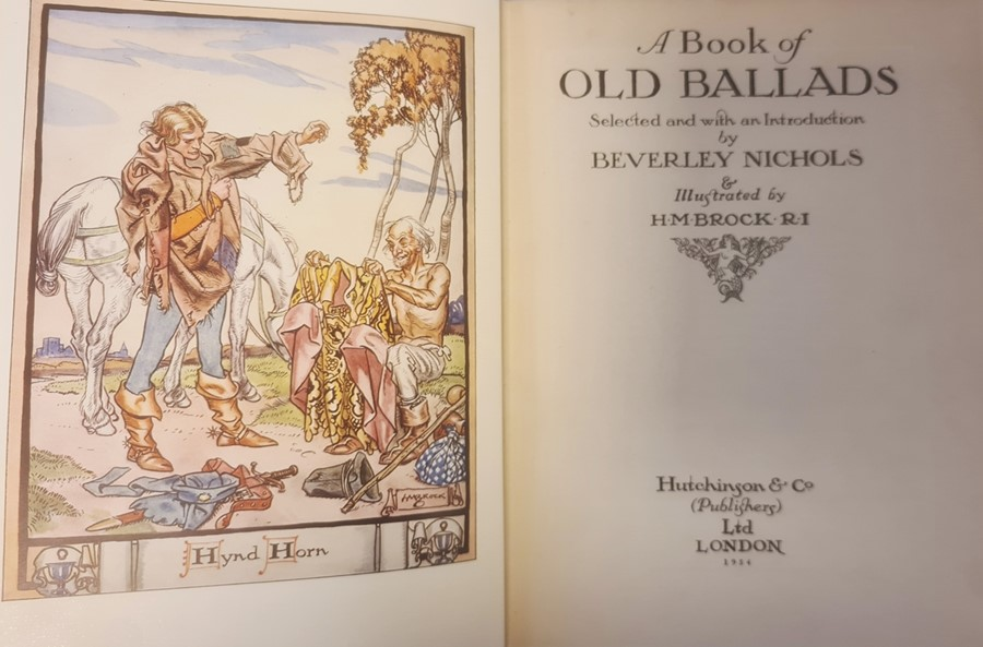 """Owen H S ( ills) """" The Robber Bridegroom,A Fairy Tale from the Brothers Grimm"""" A & C Black 1922, - Image 6 of 29"""