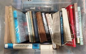 Large quantity of assorted volumes on various subjectsto include WWII, Polish history,