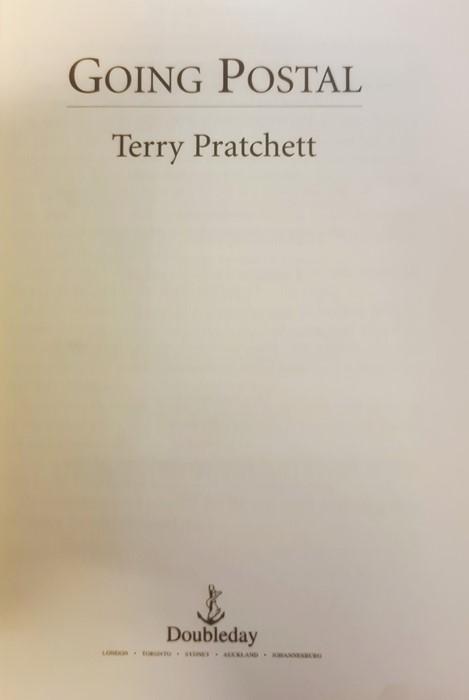 "Pratchett, Terry ""Nation"" (2 copies), ""Wintersmith"", ""I Shall Wear Midnight"", ""A Hatful of Sky"", "" - Image 17 of 21"
