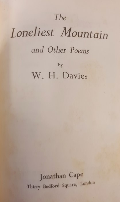 """Yeats W B """" Reveries Over Childhood and Youth"""" MacMillan and Co. 1916, col plates tipped - Image 13 of 35"""