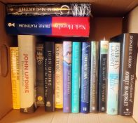 Assorted modern fiction, mainly firsts, to include Andrew O'Hagan, John Updike, John Fowles,