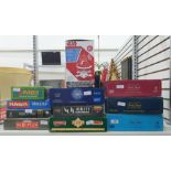 Quantity of games including three editions of Trivial Pursuit, Scruples, Notability, etc (11)