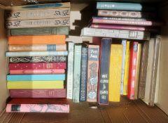 Folio Society - most with slipcases, ( 1 box)