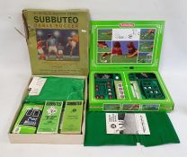 Vintage Subbuteo table soccer setand another (2)