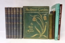 """Wright, John """" The Flower Grower's Guide..."""" with col ills by Miss Gertrude Hamilton and Miss"""