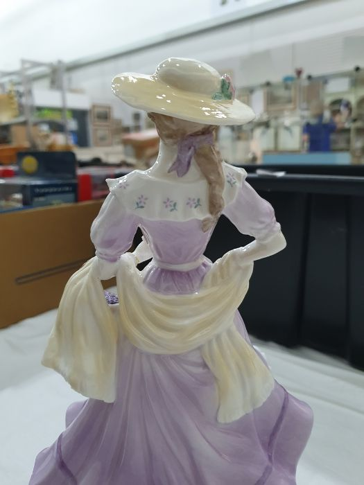 Royal Worcester 'The Four Seasons' figurinesto include 'Winter', 'Spring', 'Summer' and 'Autumn' ( - Image 17 of 22