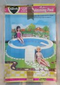 ***** WITHDRAWN **** Sindy swimming pool(boxed) andthe accessories to construct a house (2
