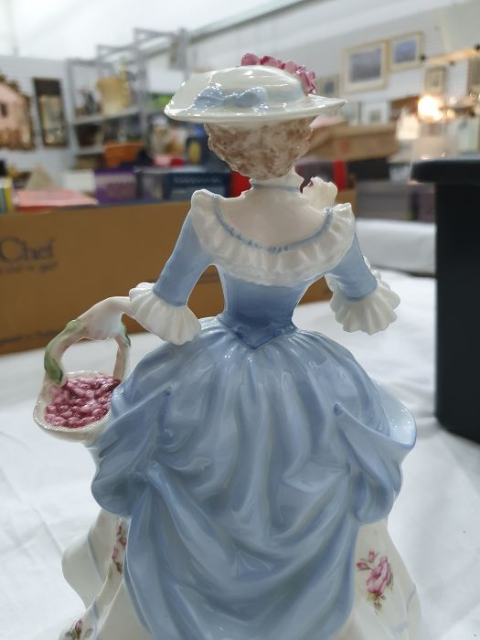 Collection of six Coalport Cries of London figurines to include 'The Flower Seller', 'Oranges and - Image 10 of 29