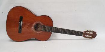 Korean Hokada guitar, model no.8158, in fitted carrying case