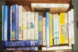 Quantity of childrens booksto include Hugh Lofting, Roald Dahl, Laura Lee Hope, Frank Knight, AA