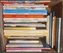 Assorted books to include Rosemary Sutcliffe, Robert Westall, Harold Keith, Fred Archer, Doris
