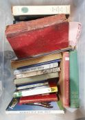 Assorted volumes to include fishing, architecture, Polish history, literature, bibliography (2