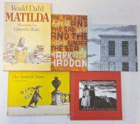 "Dahl, Roald "" Matilda"" ills by Quentin Blake, Jonathan Cape 1988, no inscriptions, red cloth, slight"