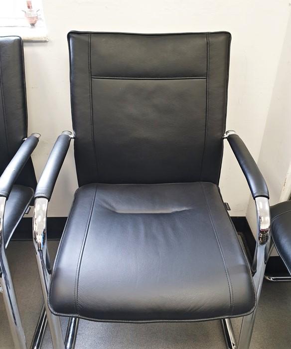 Three Dauphin office chairs(3)