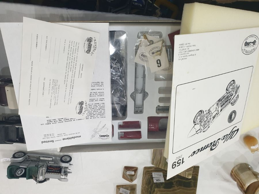 Assorted model kit carsto include Tamiya, Porsche 910, Carrera 10, 1:12 identical scale and two - Image 4 of 6