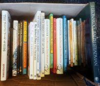 Cartoon Books - Beryl Cook, Glen Baxter, Posy Simmons, Ronald Searle,Simon Drew , and books on