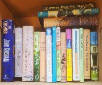 Modern firstsfictionto include Robin Maughan, Iris Murdoch, JB Priestley, Susan Hill, Gary