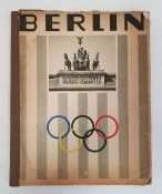 1936 Berlin Olympics programme, various other 1930's German brochuresand other items
