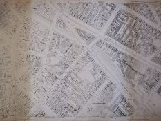 Drawing plan'Warwickshire, Birmingham and its Environs Sheet 14.5.1', first edition 1889, showing