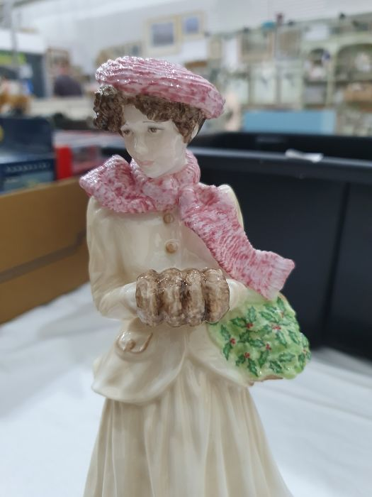 Royal Worcester 'The Four Seasons' figurinesto include 'Winter', 'Spring', 'Summer' and 'Autumn' ( - Image 19 of 22