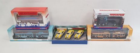 Corgi limited edition Last Routemaster model and various further model cars and vehicles, etc