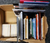 Large quantity of modern art catalogues, ephemera, postcards, The Little Library of Artpublished by