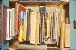 """Assorted volumes of poetry including; John Milton """" Paradise Regained """", London The Fleuron 1924,"""