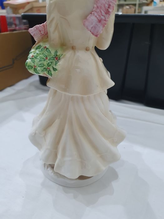 Royal Worcester 'The Four Seasons' figurinesto include 'Winter', 'Spring', 'Summer' and 'Autumn' ( - Image 22 of 22