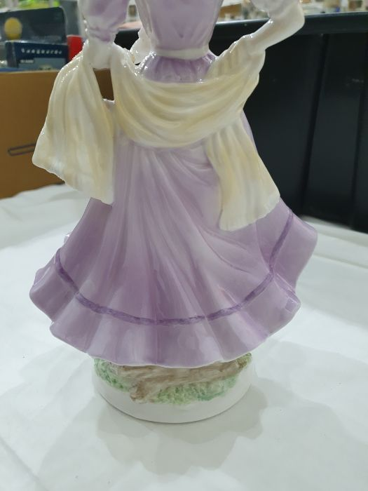 Royal Worcester 'The Four Seasons' figurinesto include 'Winter', 'Spring', 'Summer' and 'Autumn' ( - Image 18 of 22