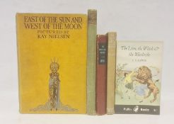 """Nielsen, Kay """" East of the Sun and West of the Moon"""" Hodder and Stoughton ( c 1924) col frontis, col"""