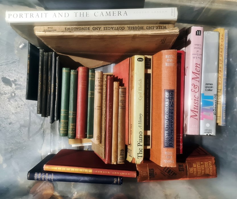 Assorted vols - on various subject, Opera , Music, Fiction, Photography,Parson's Directory and - Image 2 of 2
