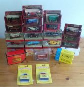 Collection of 26 boxed diecast vehiclesby Matchbox, including some unopened and limited edition