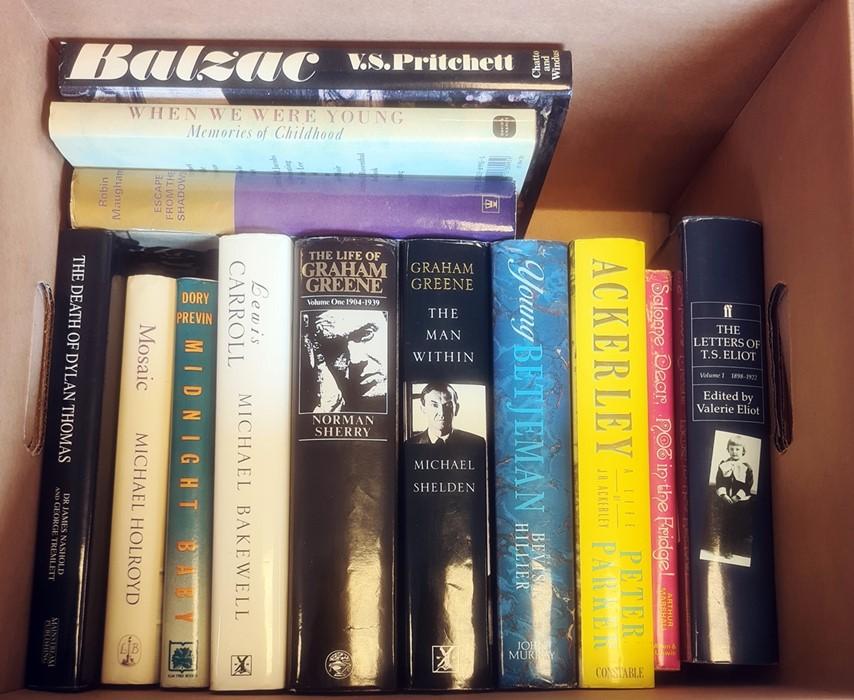 Autobiographies and Biographies - Kenneth Tynan, Richard Adams, Rudyard Kipling, Angus Wilson, Angus - Image 3 of 6