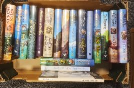Large quantity of fantasy novels to include Eoin Colfer, Stuart Paul and Riddell Chris, Michael