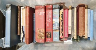 Quantity of books on assorted subjects to include German Literature, children's literature, opera,