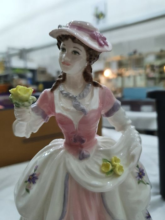 Collection of six Coalport Cries of London figurines to include 'The Flower Seller', 'Oranges and - Image 14 of 29