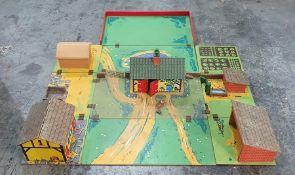 Chad Valley fold-up farmyard