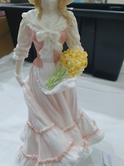 Royal Worcester 'The Four Seasons' figurinesto include 'Winter', 'Spring', 'Summer' and 'Autumn' ( - Image 7 of 22
