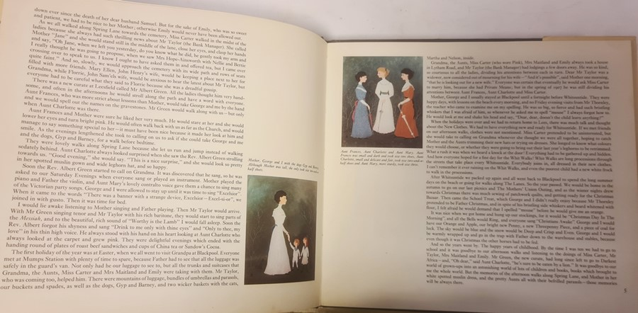 """Bradley Helen """" And Miss Carter wore Pink..."""" Jonathan Cape 1971, ills, pink endpapers, d-j , not - Image 10 of 13"""