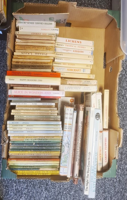 Collection of Observer Books, Ladybird books, Beatrix Potter, modern childrens books and assorted