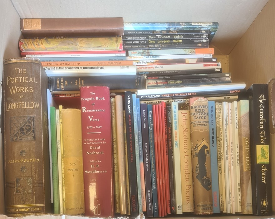 """Quantity of books relating to poetry, some signed, to include:- Ashby, Cliff """"The Dogs of Dewsbury"""", - Image 3 of 6"""