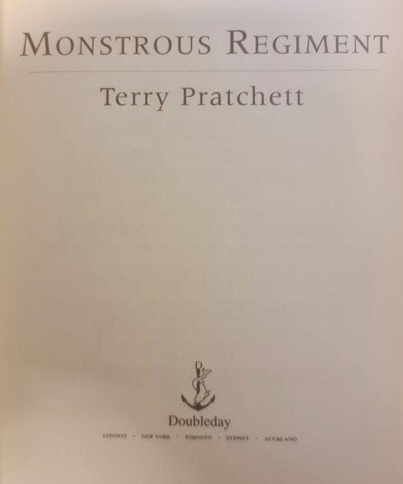 "Pratchett, Terry ""Nation"" (2 copies), ""Wintersmith"", ""I Shall Wear Midnight"", ""A Hatful of Sky"", "" - Image 20 of 21"