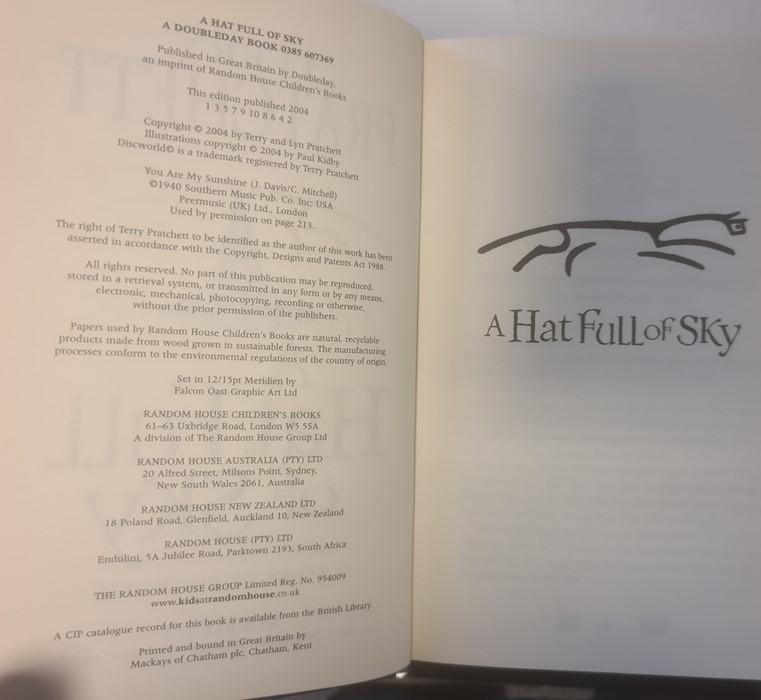 "Pratchett, Terry ""Nation"" (2 copies), ""Wintersmith"", ""I Shall Wear Midnight"", ""A Hatful of Sky"", "" - Image 14 of 21"