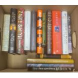 Quantity of modern firsts, some signed, to include Beryl Bainbridge, Pat Barker, Cathy Riechs,