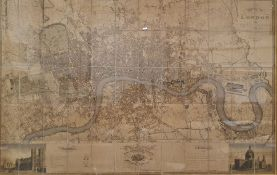 **** WITHDRAWN ***** Reproduction C & J Greenwood 'Map of London from an actual survey made in