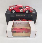 Minichamps Porsche 904 GTS 24H Le Mans 1964and a Bizarre by Fernando Pinto Sunbeam 1000 HP